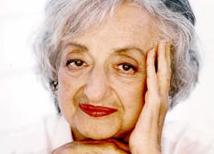 WRITER: Betty Friedan as pictured on the cover of her book, 'Life So Far.'  Ms. Friedan died in 2006.