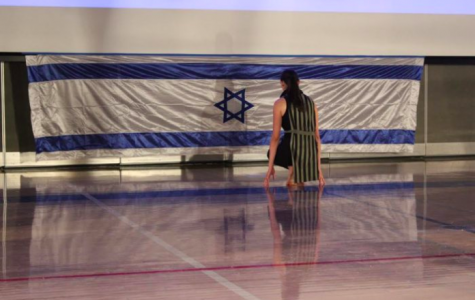 This photo from the Milken Roar, by Jordan Pardo, illustrates an opinion article about the school's ending its Hebrew language requirement. It won first place in the category of Photograph attached to any Jewish or Israel-related story.